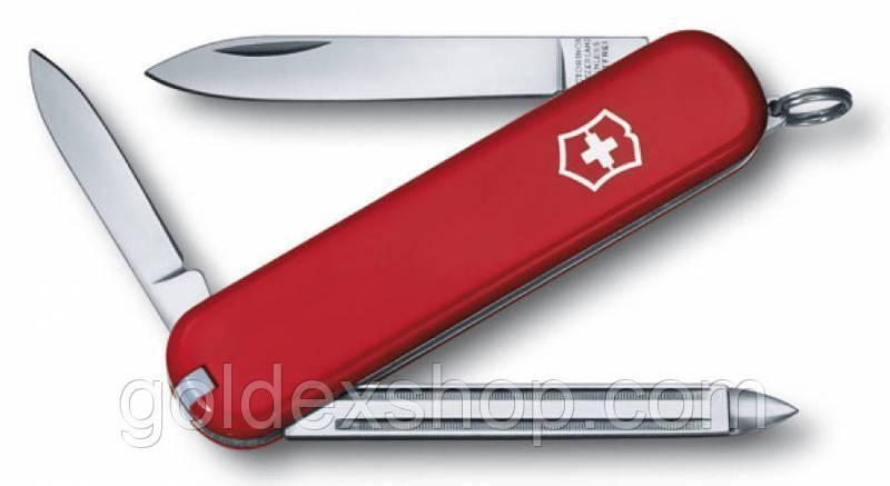 Ніж Складаний Мультитул Викторинокс Victorinox PRINCE (74мм, 7 функцій), червоний 0.6403