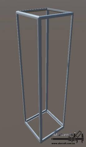 Стеллаж торговый   Конструктор из торговых профилей М-30, фото 2