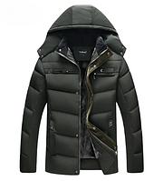 Мужская зимняя куртка. Модель 1856, фото 5