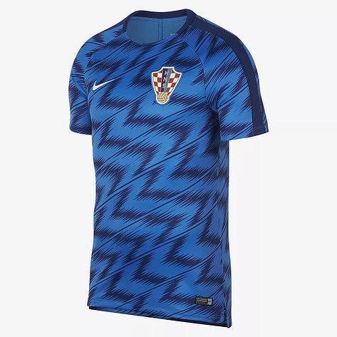 Футболка Nike CRO M NK DRY SQD TOP SS GX (оригинал, тренировочная сборной Хорватии)