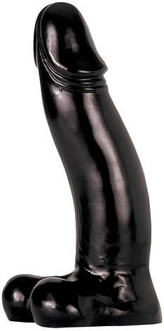 Анальный фаллоимитатор All Black, 42 см черный, фото 2