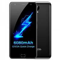 Бизнес смартфон Oukitel K6000 Plus, 4G, 4/64GB с мощным акумулятором-6080 мАч Black(черный), фото 1
