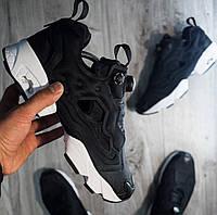 Мужские кроссовки в стиле Reebok Insta Pump Fury Black White 8c719a097778f