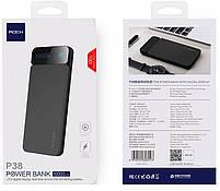 Внешний аккумулятор Power bank Rock P38 10000 mah with Digital Display Gray, фото 8
