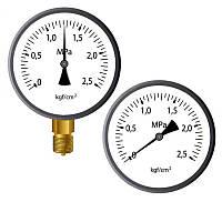 Манометр ДМ 05 063 (кл 2.5) 0-160 кПа М12х1,5(радиальный)