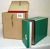 Архивные папки, короба, нотариальные папки, папки на завязках — изготовим под заказ