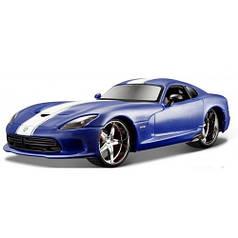 Машинка Allstars - 2013 SRT Viper GTS, синий металлик, 1:24, Maisto