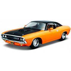 Модель автомобиля Dodge Challenger R/T (оранжевый), 1:24, Maisto