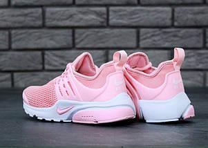 Женские кроссовки в стиле Nike Air Presto Pink/White, фото 3