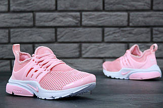 Женские кроссовки в стиле Nike Air Presto Pink/White, фото 2