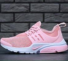 Женские кроссовки в стиле Nike Air Presto Pink/White