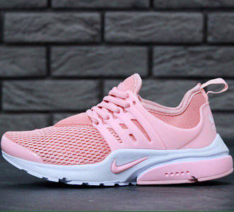 Женские кроссовки Nike Air Presto Pink/White
