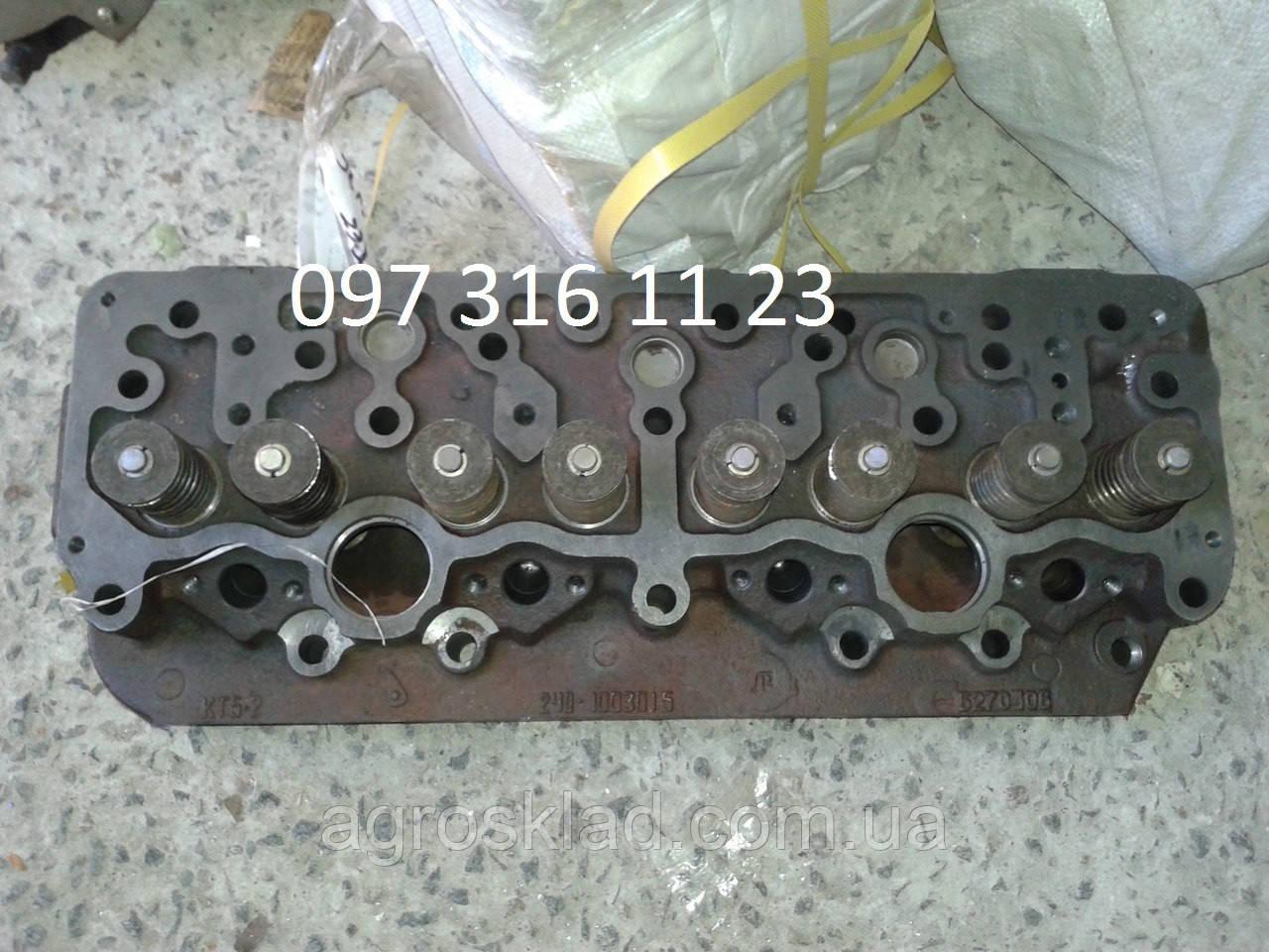 Головка блока цилиндров МТЗ  4 шпильки 240-1003012