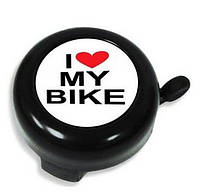 Звонок для велосипеда I LOVE MY BIKE