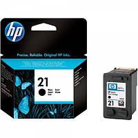 Картридж струйный HP No.21 black, 5ml (C9351AE)