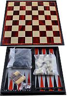 Набор 3в1 Нарды,Шахматы,Шашки (Магнитная доска) №37710