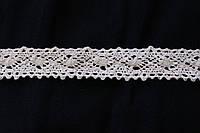 Кружево хлопковое белого цвета ширина 2 см № 0320, фото 1
