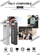 USB Flash Micro Drive  на 32 гб. Флеш накопитель темно серебряного цвета. Флешка., фото 3