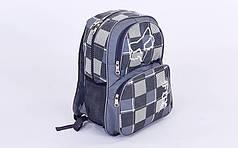 Рюкзак городской FOX GA-59529 (PL, р-р 43х32х13см, цвета в ассортименте)