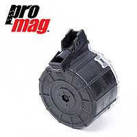 Магазин 12 калибр на 12 патронов барабанный полимерный PROMAG (США) для Сайги