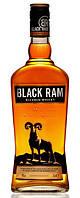 Виски Black Ram 0,5л 40% (Болгария, Ямбол, TM Peshtera)