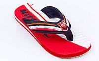 Вьетнамки для мальчиков KITO ETGC9275-RED-MIX (EVA, р-р RUS-32-35, красный-серый)
