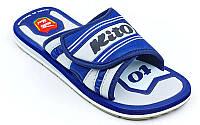 Сланцы для мальчиков KITO KCE776-D.BLUE-MIX (EVA, р-р RUS-32-35, синий-серый)
