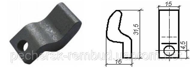 Контакт КТ 6010 подвижный медь, фото 2