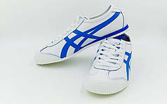 Обувь спортивная мужская Кожа ASICS OB-316-W (р-р 40-45) TIGER (кожа, PVC, подошва-RB, белый)