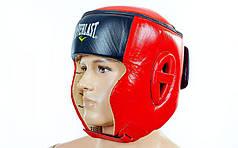 Шлем боксерский в мексиканском стиле кожаный ELAST VL-6147 (р-р М-XL, цвета в ассортименте)