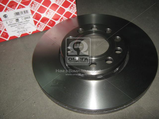 Диск тормозной SKODA/VW SuperB/Passat F 00-08 (пр-во FEBI) 28505