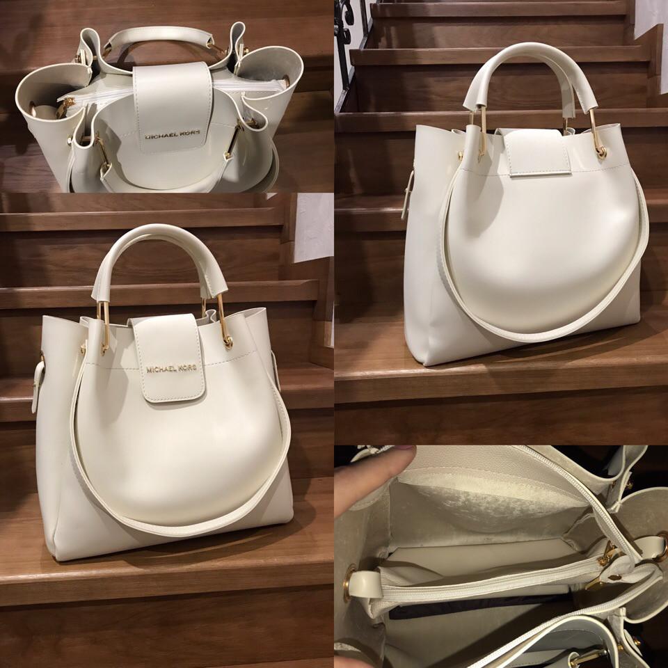 Модная светлая сумка