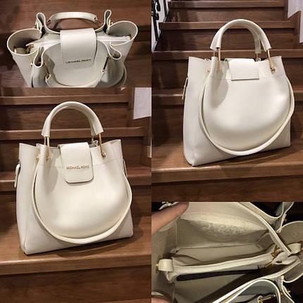 Модная светлая сумка, фото 2