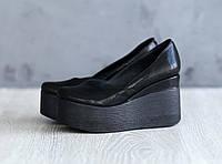 Женские туфли на платформе натуральная кожа, фото 1