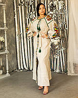 Льняные платья и туники в категории этническая одежда и обувь ... f4e014c50a5cb