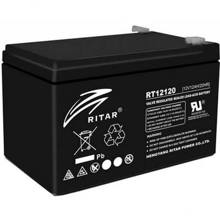 Аккумулятор 12V вольт 12 ah ампер, фото 2