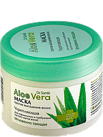 """Маска """"Укрепляющая"""" для нормальных и требующих частого мытья волос 300мл """"Dr.Sante Aloe Vera"""""""