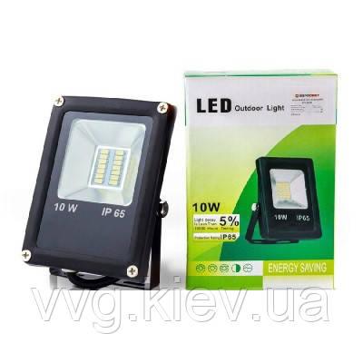 Прожектор светодиодный ЕВРОСВЕТ 10Вт 6400К EV-10-01 700Лм SMD (000038791)