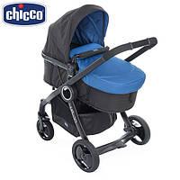 Детская Коляска универсальная Chicco (2в1) - Urban Plus Сrossover + Color Pack (4 цвета) 79214 Синий