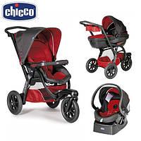 Универсальная коляска Chicco (3в1) - Trio Activ 3 Top Красный