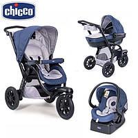 Универсальная коляска Chicco (3в1) - Trio Activ 3 Top Синий