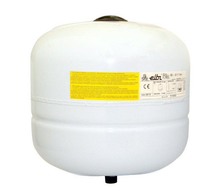 Мембранный бак для отопления и водоснабжения DS-8 Elbi из нержавейки