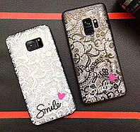 Силіконовий 3D чехол для телефону Samsung Galaxy S6 edge G925 силиконовый на самсунг гелекси кружево