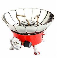 Плита газовая с пьезоподжигом и защитой от ветра 2903511