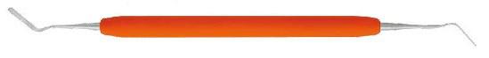 Гладилка дистально-медиальная эластичная тонкая с силиконовыми ручками (Италия) 8171 NaviStom