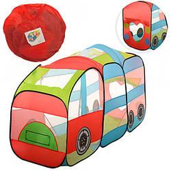 Детская игровая палатка Локомотив 3334