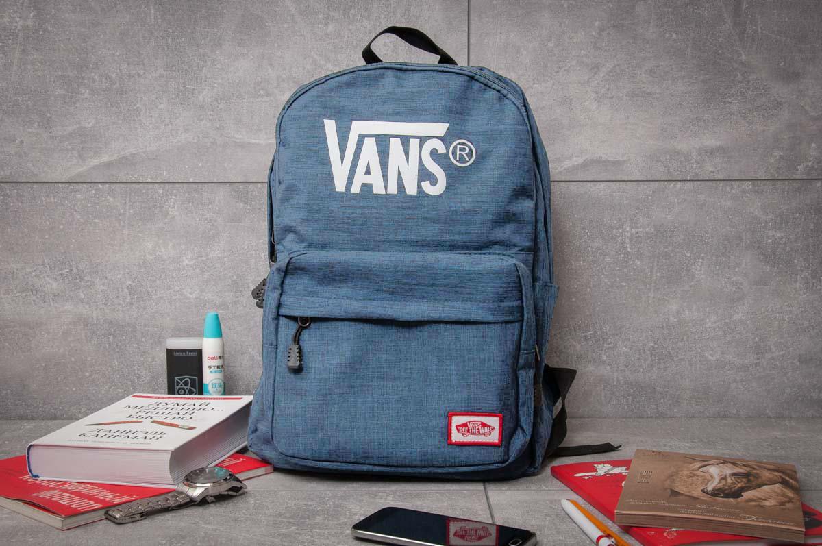 Рюкзак унисекс Vans , синий (90004),  [ 1  ]