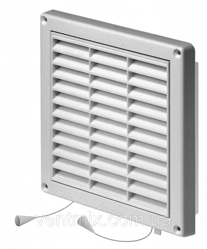 Вентиляционная решетка с жалюзи 170х170 мм