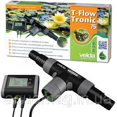 T-Flow Tronic 75 прибор для борьбы с водорослями, удаление нитевидных водорослей , фото 2