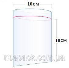 Пакеты Zip-Lock 10х10 см для упаковки и фасовки
